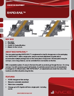 Rapid-Rail Sell Sheet