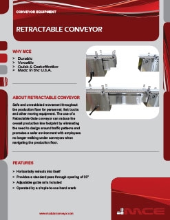 Retractable Conveyor Sell Sheet